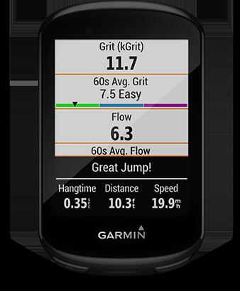 Garmin Edge 830 Mtb dynamics