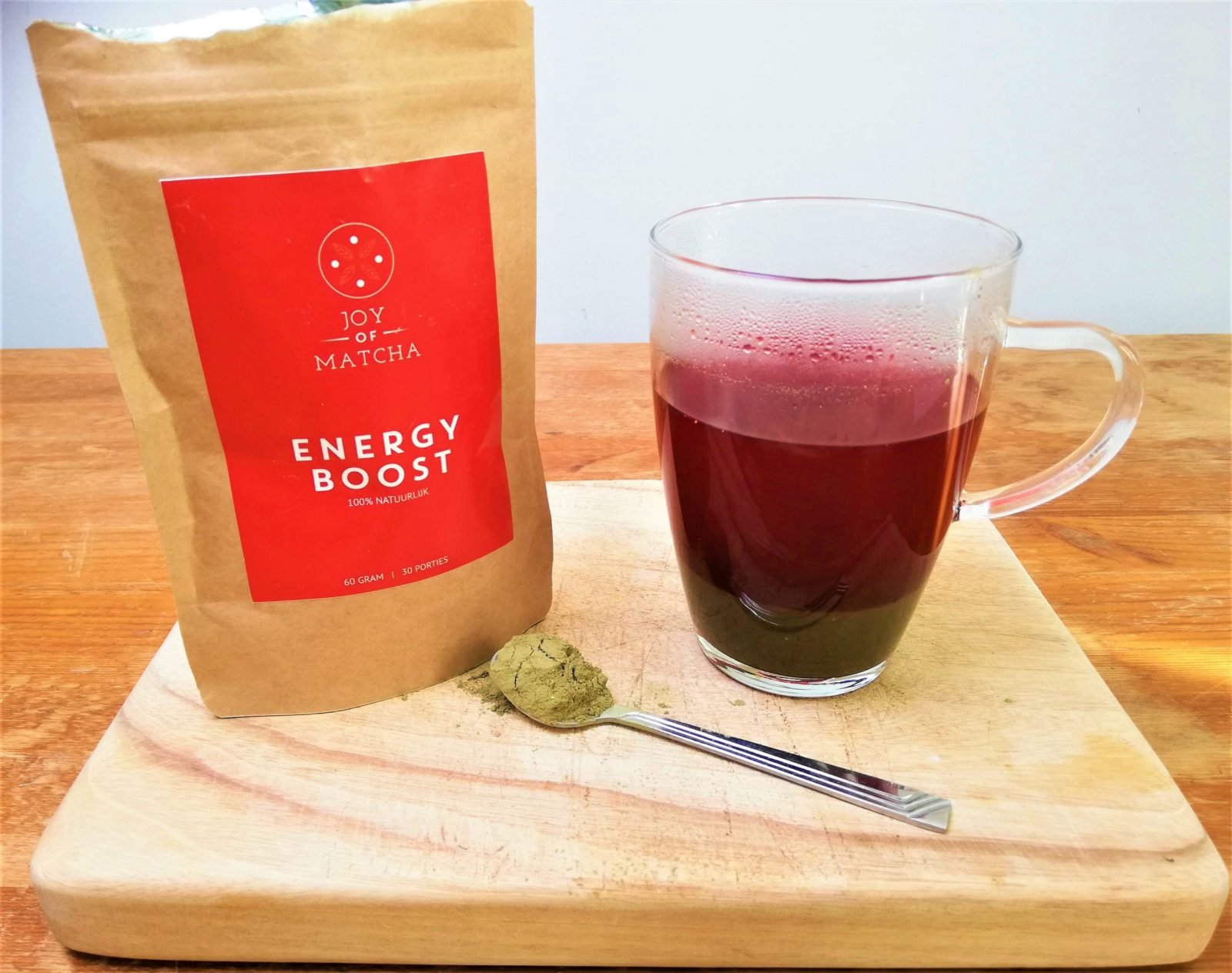 Joy of Matcha Energy Boost Drink