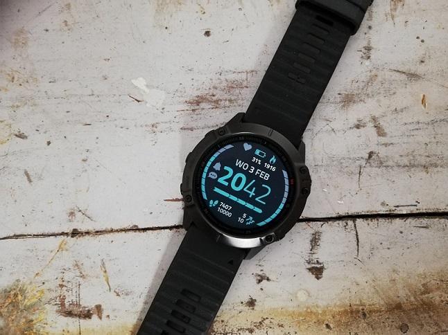 Garmin Fenix 6X Pro Crystal watch face