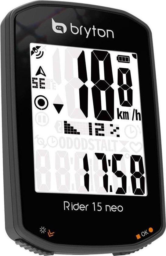 Bryton Rider 15 Neo E draadloze fietscomputer met gps