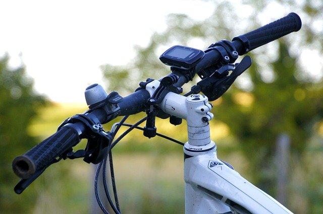 Draadloze fietscomputer