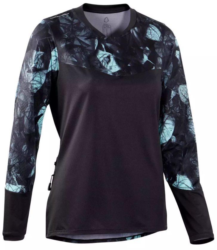 Rockrider ST500 mtb shirt met lange mouwen dames