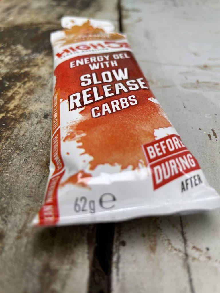 High 4 energie gel slow release