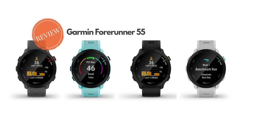 Garmin Forerunner 55 review